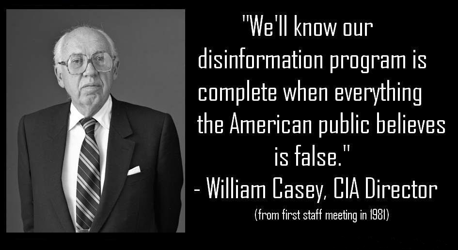 Image result for we will know our disinformation program is complete